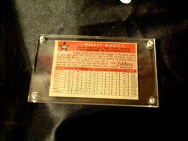 1958 Mickey Mantle Baseball Trading Card # 487 AA 19-BTC4003 Vintage Collectible image 5