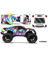 RC Body Graphics Kit Decal Sticker Wrap For Vaterra Halix Monster Truck ... - $29.65