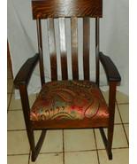 Quartersawn Oak Mission Rocker / Rocking Chair  (R249) - $599.00