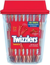 TWIZZLERS Twists (Strawberry, 105-Count) - $12.98