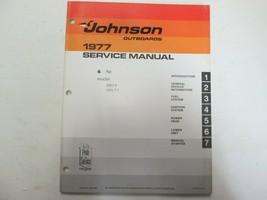 1977 Johnson Außenborder 6 hp Modell 6R77 6RL77 Service Reparatur Shop M... - $24.74