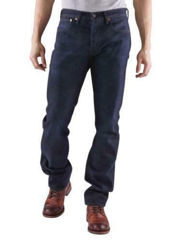 NEW LEVI'S STRAUSS 501 MEN'S ORIGINAL STRAIGHT LEG LODGE POLE JEAN PANT 501-1854