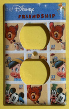 Art of Disney Friendship Stamps Light Switch Outlet Wall Cover Plate Home decor image 2