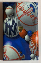 NY NYC New York Yankees baseball Light Switch Outlet Wall Cover Plate Home Decor image 2
