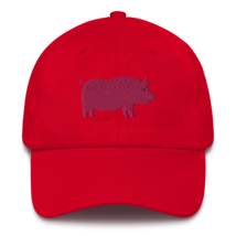 Pro pig hat / pig hat  / made in USA / Cotton Cap image 6