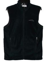 Eddie Bauer Men's Stylish Full Zip Atlantic Blue Fleece Vest NWT Size XL - $27.14