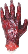 Hand Prop Burnt Left Halloween Haunted House Creepy Gory Realistic SS70396 - £23.49 GBP