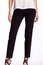 TRINA TURK Black Society dress pants zippered pockets Size 12 NWT NEW $266 - $59.95