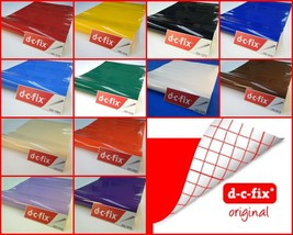 DC Fix Various Self Adhesive Plain Gloss Colours Contact Paper 17.7'' x 78.7'' - $15.18