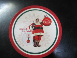 "Coca-Cola 8"" Christmas Plate ""Served Ice Cold!"" - Free Shipping - $13.85"