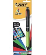 BIC 4-Color Grip Ballpoint Pen with Stylus, Medium Point (1.0mm), Assort... - $6.52