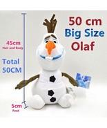 Large 50cm Olaf the Snowman Plush Stuffed Toy Doll (19inch ) NEW - $54.44