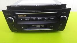 2006 Lexus GS300 GS350 Radio Cassette Stereo 6-DISCCD Player Unit Oem - $188.09