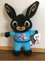 Fisher Price Bing Plush Toy BEDTIME BING In Hoppity Voosh Superhero Cape Gift - $32.29