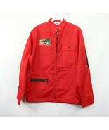 Vintage 70s Champion Spark Plugs Mens Medium Full Zip Patch Racing Jacke... - $88.16