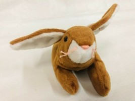 Vintage Ty Beanie Baby Ears Bunny Rabbit Bean Bag Toy  1995 Retired - $5.89