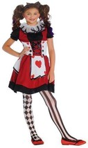 New Playing Card Cutie Wonderland Halloween Costume Girls Medium 8-10  - $19.99