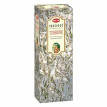 Hem Precious Tuberose Incense Sticks Natural Fragrance 6 Packs of 20 Sticks Each - $11.06