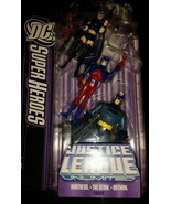 DC Super Heroes Justice League Unlimited - Batman, Storm and Montress - $18.69