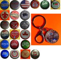 NY Yankees Baseball Coke Sprite Diet pepsi & more Soda beer cap Keychain image 1