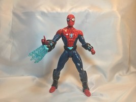"SPIDER-MAN 10"" Action Figure 2012 Electro Web Talks Spins A - $18.81"