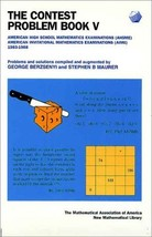 The Contest Problem Book V: American High School Mathematics Examination... - $39.95