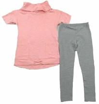 Size 5 Little Girl's NAUTICA Fashion Tunic and Leggings 2-Piece Set NEW