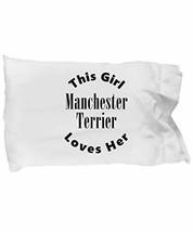 Unique Gifts Store Manchester Terrier v2c - Pillow Case - $17.95