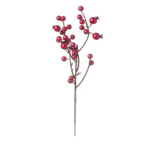 Christmas Floral Red Christmas Berry Picks - $15.00