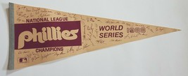 Vintage 1983 Philadelphia Phillies National League Champions Pennant MLB... - $29.95