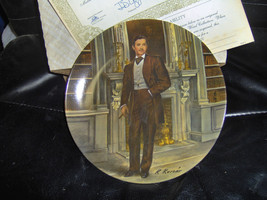 "Knowles ""Rhett"" Fourth Collector Plate of Gone With the Wind 8.5 Inches - $34.65"