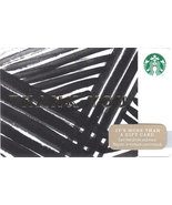 Starbucks 2014 Thank You Fronds Collectible Gift Card New Free Shipping - $4.99