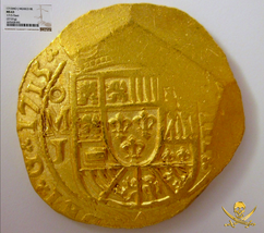 Mexico 1715 Ngc 63 Fleet Shipwreck 8 Escudos Pirate Gold Coins Treasure Cobs - $48,500.00