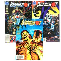 Bloodshot 3 Comic Book Lot Run Issues 41 42 43 Valiant VF NM Volume 1 Movie - $9.85