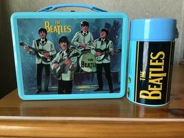 The Beatles Signatures Metal Lunch Box with Thermos New Lunchbox Limited Edition image 4