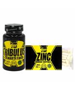 30 Caps TEN Zinc Citrate | Immune System | TEN Tribulus Terrestris | Mus... - $30.68
