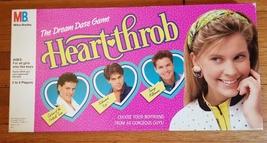 Heart Throb Dream Date Game 1988 Milton Bradley #4913 Missing Trevor Card - $30.00