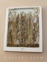 SPLEDID! VICTORIAN 19TH CENTURY WINDOW FRAME ART DRIED FLOWERS DECOR SHA... - $2,320.00
