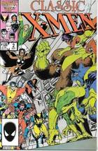 Classic X-Men Comic Book #2 Marvel Comics 1986 Near Mint New Unread - $5.94