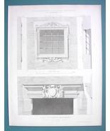 ARCHITECTURE PRINT 1869 - RENAISSANCE Window Toulouse on Rue des Changes - $6.71
