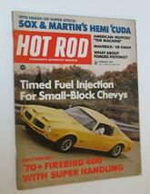 HOT ROD Magazine  February 1970 Firebird 400 Chevys Sox & Martin's Hemi ... - $8.00