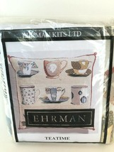 Ehrman Tapestry Maggie Hollingsworth Tan Background New/Unopened  - $124.73
