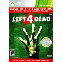 Valve Left 4 Dead Xbox 360 - $21.46