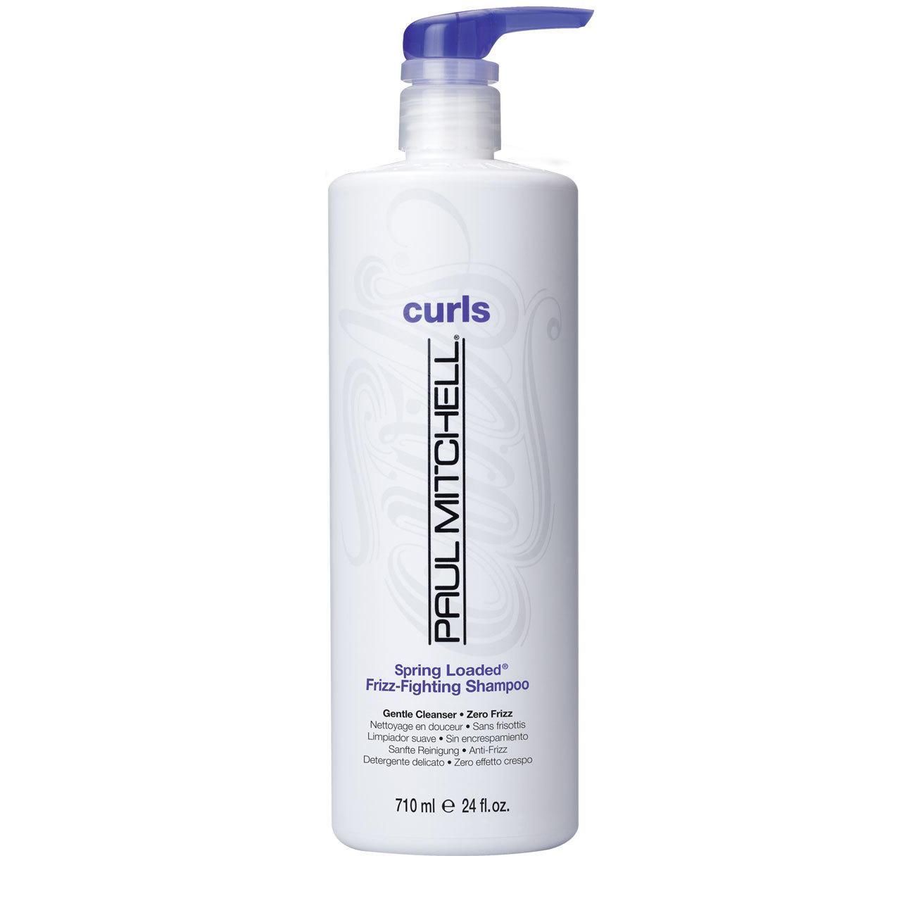Curls spring loaded detangling shampool