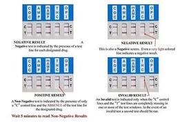 5 Pack of 5-Panel Drug Testing Dip - Tests THC/OPI/COC/PCP/AMP image 2