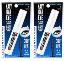 (2-Pack) CoverGirl Katy Kat Mascara, Katy Kat Eye, Waterproof, Very Blac... - $14.99
