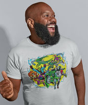 Marvel Comics Villains T-shirt retro Green Goblin Dr Octopus Dr Doom cotton tee image 3
