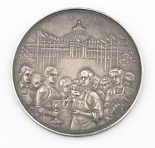 1904 Austria Viennese Apprentice Exposition Silver Medal AU-UNC Eugen Schott - $123.75