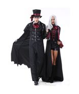 Halloween Couple Vampire Demon Devil Cosplay Costume - $84.07