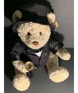 Wellington Millennium Teddy Bear Plush Tuxedo Bell Dillards Frederick At... - $32.00